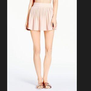 Kate Spade Georgia Blush Pink Pleated Skirt Small